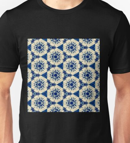 Blue Pattern Unisex T-Shirt