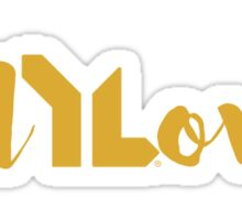 Fully Loved (gold) Sticker