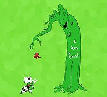I Am Groot by Clarkiie »