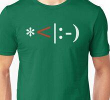 Christmas Elf Emoticon Unisex T-Shirt