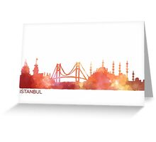 Istanbul-scape Greeting Card