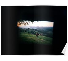 Through the viewfinder - Byron ranges Poster