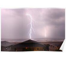Double Lightning Strikes Poster