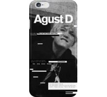 AGUST D Phone Case BTS V3 iPhone Case/Skin