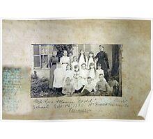 Sept 1 1890, Miss Lara & Nannie Dodd's Private School, 15th District, Davidson County, Tennessee Poster