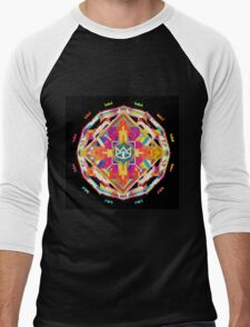The Cat Empire - Mandala colorfull Men's Baseball ¾ T-Shirt