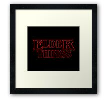 Elder Things! Framed Print
