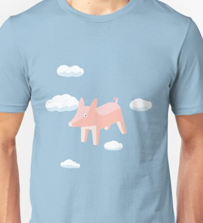 PIG ON THE WING Unisex T-Shirt