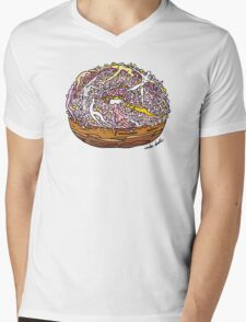 Kamasutra Donut Party Love Parade Mens V-Neck T-Shirt