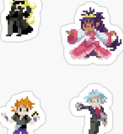 Pixel Champions 1 Sticker