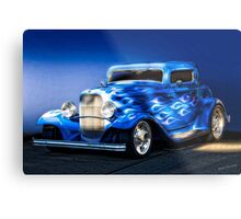 1932 Ford 'Boy Blue' Coupe I Metal Print