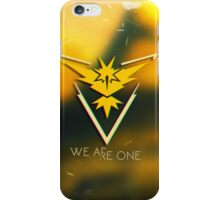 Team Instinct! iPhone Case/Skin