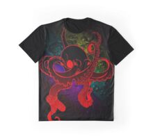 Psychedelic Octopus. Graphic T-Shirt