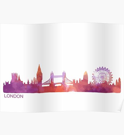 London-scape Poster