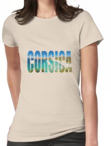 Corsica Womens Fitted T-Shirt
