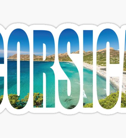 Corsica Sticker