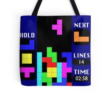 The Blocks Are Back Tote Bag