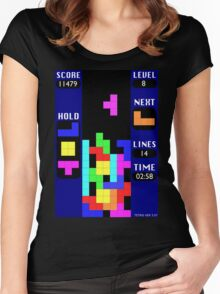 The Blocks Are Back Women's Fitted Scoop T-Shirt