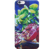 Pomegranates & Jade iPhone Case/Skin