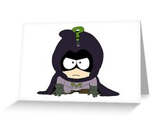 Mysterion Greeting Card