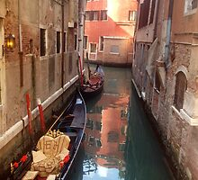 Venetian Canals by Kevin Poole