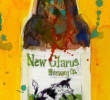 New Glarus Brewing Co. Wisconsin Beer  Sticker