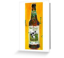 New Glarus Brewing Co. Wisconsin Beer  Greeting Card
