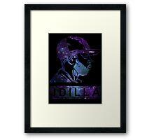 J Dilla Galaxy Poster  Framed Print