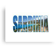 Sardinia Canvas Print