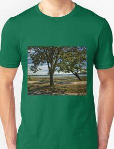 Leaning Shadows Unisex T-Shirt