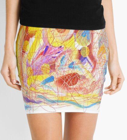 Off the Wall Mini Skirt
