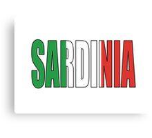 Sardinia. Canvas Print