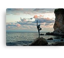 Goddess of the Sea Canvas Print