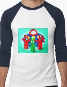 The Aliens Have Landed And they'd Like To Say Hello Men's Baseball ¾ T-Shirt