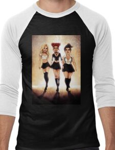 We are the weirdos, sistahs! Men's Baseball ¾ T-Shirt