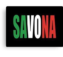 Savona. Canvas Print