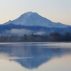 Mt. Rainier in the Morning by marialberg