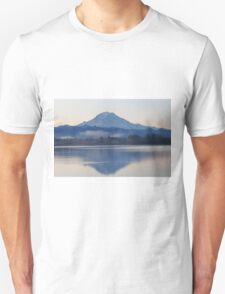 Mt. Rainier in the Morning Unisex T-Shirt