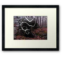 Cave Spirit Framed Print