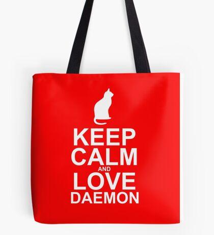 Keep Calm and Love Daemon Tote Bag