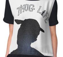 HIP-HOP / RAP: Tupac Shakur aka 2Pac - Thug Life Chiffon Top