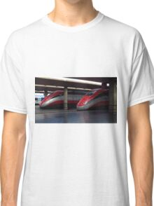 Trains, Florence Central Station Classic T-Shirt