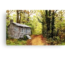 Cabin in the Deep Woods Canvas Print