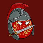 Polandball - Roman Empireball by DigitalCleo