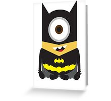 Dark Knight Minion Greeting Card