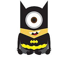 Dark Knight Minion Photographic Print
