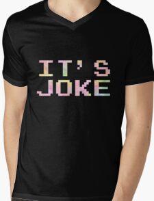 IT'S JOKE Mens V-Neck T-Shirt