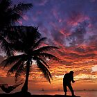 Sunset Fishing by Alex Preiss