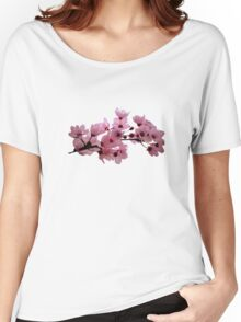Cherry Blossoms on a Branch Women's Relaxed Fit T-Shirt