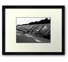 ditch systems Framed Print